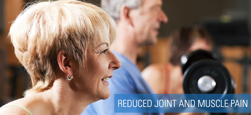 Reduced Joint Pain